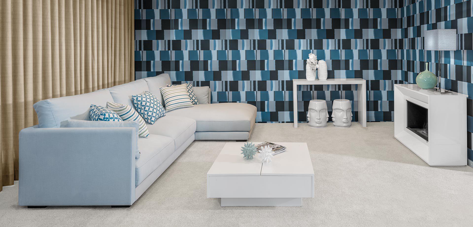 10 regras de ouro para decorar uma sala de estar - Papel paredes ikea ...